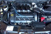 Picture of a engine we detailed in Elkhart, Indiana
