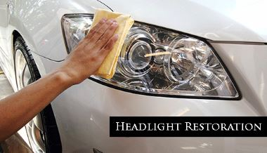 We have restored even the oldest of headlights in Elkhart, Indiana.  This picture happens to be a newer one.